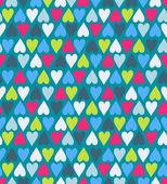 Hearts pattern — Stock Vector