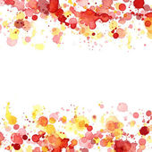 Watercolor splashes — Stock Photo