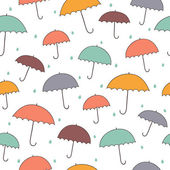 Rainy pattern — Stock Vector