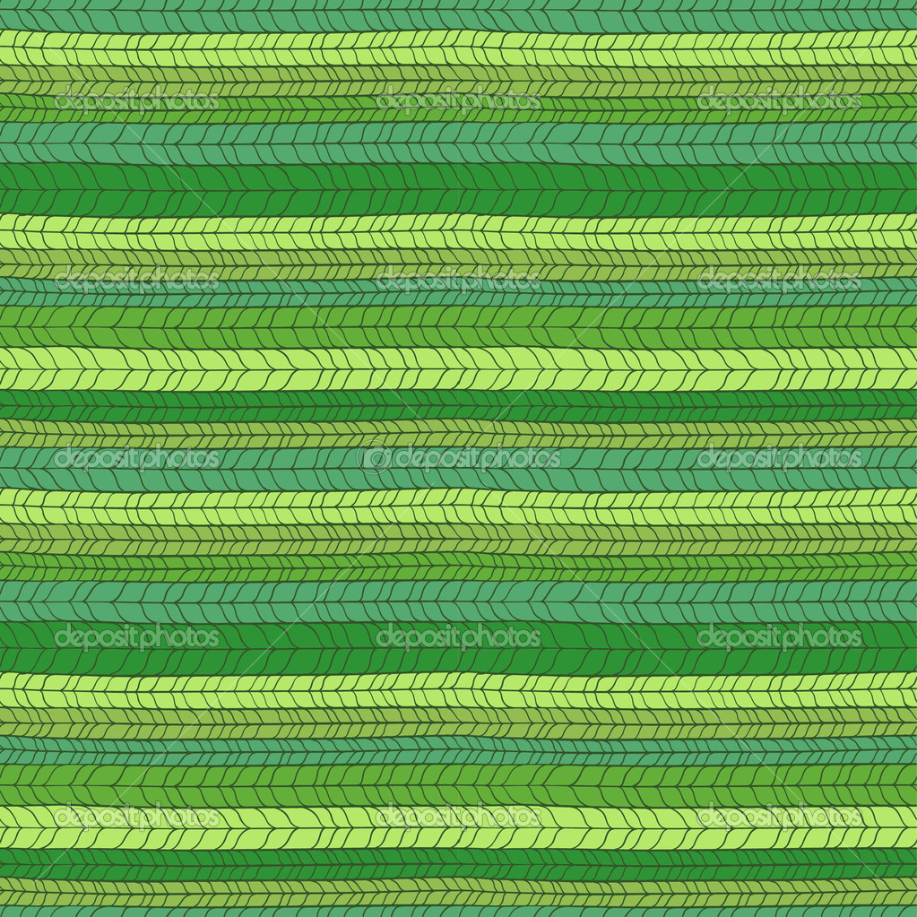 Seamless green knitted texture. Vector illustration — Stock Vector #11830396