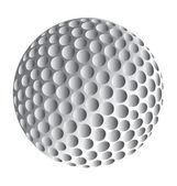 Golfball — Stock Vector