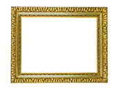 Antique golden picture frame — Stock Photo