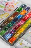 Watercolors — 图库照片