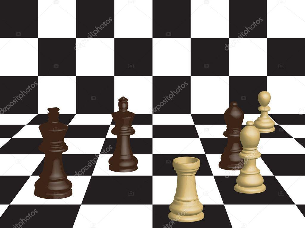 的国际象棋棋子图片