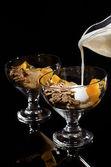 Sağlıklı bir kahvaltı — Stok fotoğraf