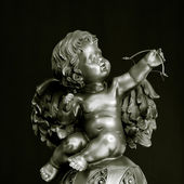 Cupid statue — Stock Photo