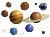 Planet — Zdjęcie stockowe