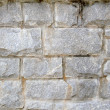Stacked Stone Block Wall — Stock Photo