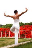 Outdoor Yoga — Stock Photo