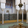 Tomb of Moulay Ismail in Meknes with mosaics — Stock Photo