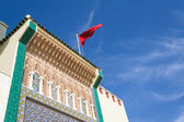 Detail of the facade of the royal palace in Fes — Stock Photo