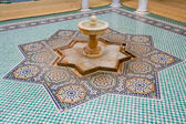 Fountain in the Tomb of Moulay Ismail in Meknes — Stock Photo