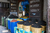 Olives Shop in Rabat — Stock Photo
