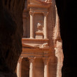 Petra, the lost city of the Nabateans - Stock Photo