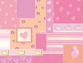 Baby background — Stock Photo