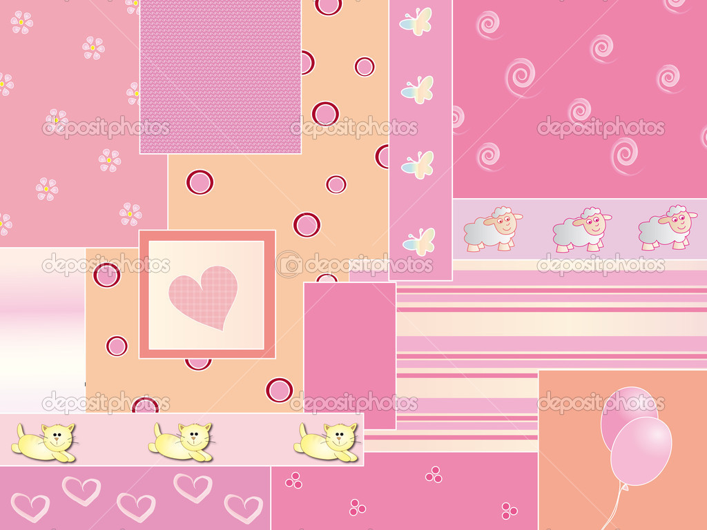 baby background wallpaper pink