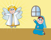 Annunciation — Stock Photo