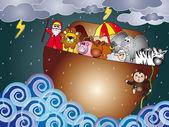 Noah ark — Stock Photo