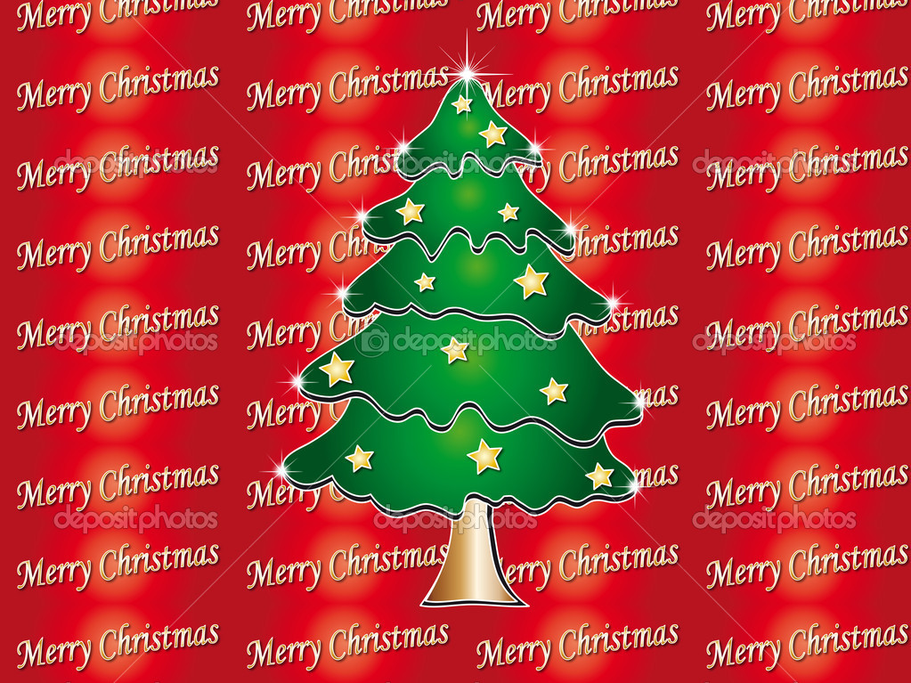 Tree christmas card — Stock Photo #11014805