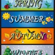 Royalty-Free Stock Photo: Seasons