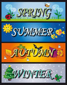 Seasons — Stock Photo