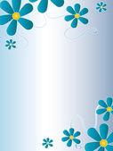 Flowers card — Stock Photo