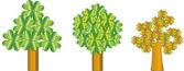 Tree illustration — Stock Photo