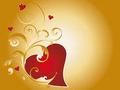 Ilustración de corazón — Foto de Stock