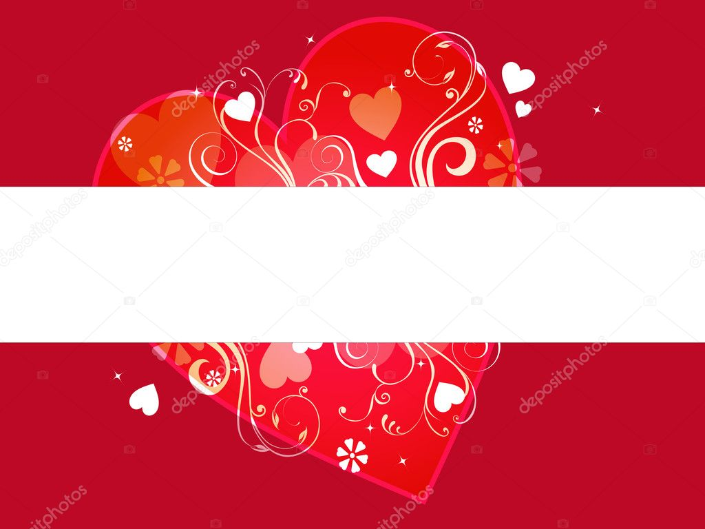 Love banner illustration — Stock Photo #11812931