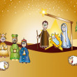 Foto Stock: Nativity