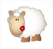 Sheep cartoon — Stock Photo