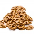 Stock Photo: Salted pretzel