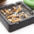 Ashtray completely — Stock Photo #10982671