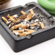 Ashtray completely — Stock Photo