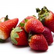 Stock Photo: Strawberries freshly