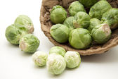 Brussels sprouts freshly — Stock Photo