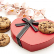 Foto Stock: Cookies with dear symbol