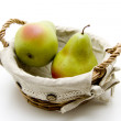 Pears in the basket — Stock Photo #11224133
