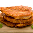 Cutlets spicy and raw - Foto Stock