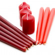 Different candles — Stock Photo