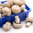 Stock Photo: Champignons in bowl