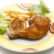 Roasted chicken — Stock Photo #11974860