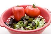 Tomato with Capsicum — Stock Photo