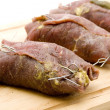 Filled beef Roulade — Stock Photo #12177875