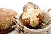 Mixed bread rolls — Stock Photo