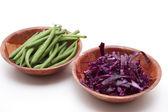 Bowles di verdure — Foto Stock