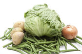 Ijs salade met ui — Stockfoto