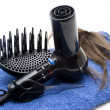 Hair hairdrier — Stock Photo