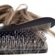 Hairbrush — Foto de stock #12331710