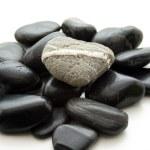 Black stones — Stock Photo #12334542